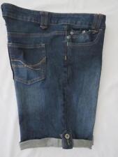 HOT OPTIONS TARGET Womens Factory Fade Cuffed Option Denim Jeans Shorts  - Sz 14