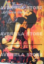 Wrestling AVBRIELA La Diva de las Divas model  POSTER COLLECTOR's 2x1 SIGNED