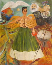 Frida Kahlo Marxism Will Give Health to the Ill Giclee Canvas Print Paintings Po