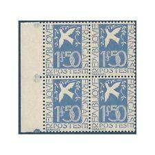 N°__294 COLOMBE PAIX 1934 NEUFS** BLOC DE 4 TIMBRES POSTE