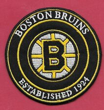 "New Boston Bruins Est. 1924   3 "" Iron on Patch Free Shipping"
