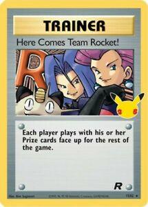 x1 Here Comes Team Rocket! - 15/82 - Holo Rare Classic Pokemon Celebrations M/NM