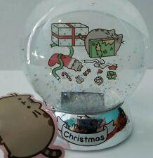 Pusheen Holiday Presents Light Up Snow Globe New