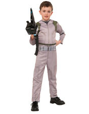 Ghostbusters Kids Costume Jumpsuit & Wand  L  Age 8 - 10, Height 142 - 152 cm