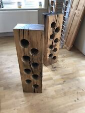 Wine Rack Reclaimed Solid English Oak Free Delivery