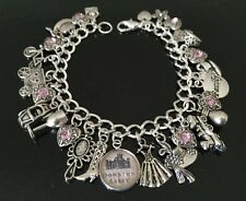 Downton Abbey Charm Bracelet, Tv Show, British, Gift, Fandom