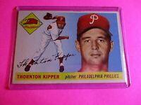 1955 Topps Baseball #62 Thornton Kipper Phillies ExMt