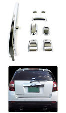 Chrome Rear Window Trim 10p For 2008 2009 Chevy Captiva : Winstom