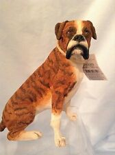 "Country Artists Dogs  Boxer Sitting  Best in Show 4.25""  Resin CA03355  $17.99"