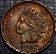 FROSTY 1903 RAINBOW  INDIAN HEAD CENT R/B, BU,MS,MS FULL LIBERTY + 4 DIAMONDS
