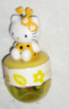 "Yellow 1 1/2"" Hello Kity Ornament Figurine"
