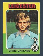 TOPPS 1975 FOOTBALLERS-#165-LEICESTER CITY-CHELSEA-BRISTOL CITY-CHRIS GARLAND