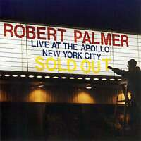 Robert Palmer - Live At The Apollo - Greatest Hits CD NEW/SEALED