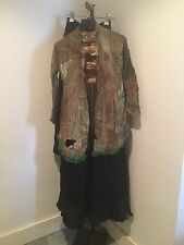 Vintage Antique Victorian? Extant Garment Lot, 2 Black Underskirts 1 Shirtwaist