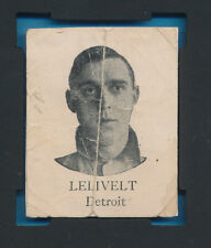 SGC AUTHENTIC SQUARE PROOF COLGANS CHIP E254 BILL LELIVELT 1909 BLANK BACK CARD