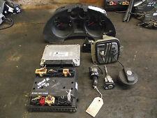 Seat Ibiza 6L 2003 1.2 12V petrol ECU Key Kit 03E906033P + door lock set Inc VAT