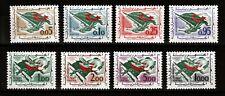 Algeria Sc 296-303 NH issue of 1963 - Revolution & Peace
