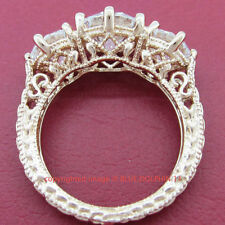 Cubic Zirconia Eternity Rose Gold Fine Rings