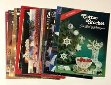 Christmas & Other Types of Needlecraft books (Vintage to modern)
