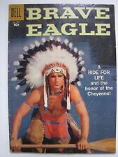 Brave Eagle [#5] (Aug 1958, Dell) Four Color #929 [VG+ 4.5]