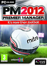 Premier MANAGER 2012 (PC CD), NUOVO WINDOWS 7, Windows 7 Video Games