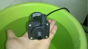 24V Micro Brushless Water Pump DC40E-2470 26W 7m 1/4 inch threaded inlet/outlet