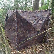 Concealer 2 Pigeon Shooting Air Rifle Hide Camo Pop Up Quick Set 10 View Windows