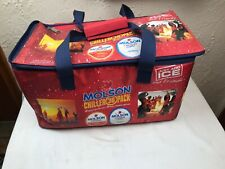 Molson Chiller 36 Pack Cooler with Volleyball and Beach Scene-2004