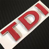NEW TDI Badge Emblem For VW Passat Caddy Bora T5 T4 Golf Rear Boot MK4 MK5 MK6