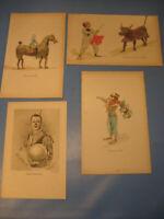 Circus Renz 1930.Jahre Drucke,Bilder von Artisten Clown-Circus pictures 1930