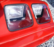 Fits 79-81 Firebird Trans Am GTS Clear Acrylic Headlight Covers 4pc NEW GT0105C