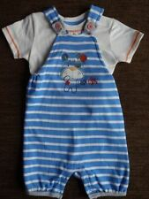 Boys' Dungarees T-shirt Set Outfit 12-18 Months Matalan New with tags
