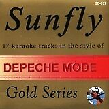 DEPECHE MODE CD+G - 17 SUNFLY KARAOKE SONGS