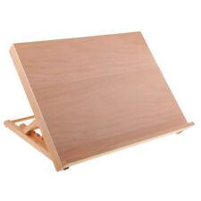 Adjustable Wooden Art Paitnig Drawing Board Table Canvas Workstation Desk Easel