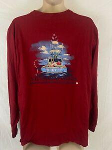 Vineyard Vines Knotty Christmas Large Long Sleeve T Shirt
