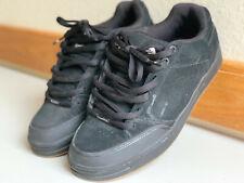 Emerica Heritic 3 Skate Shoes Vintage Size 10 Mens Black Gum