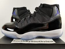 Nike Air Jordan 11 Space Jam Size 14 With Receipt XI Retro Jams Black 378037-003