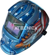 Maschera lcd autoscurante Atecnica MEGA600B per saldatura elettrodo MIG MAG TIG