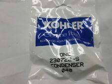 Genuine OEM Kohler Condenser 230722S not aftermarket