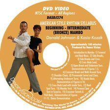 MAMBO Beginning Intermediate Bronze American Rhythm Syllabus Dance Vision DVD