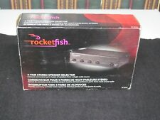 Rocketfish RF-SSVC4 4 Pair Stereo Speaker Selector