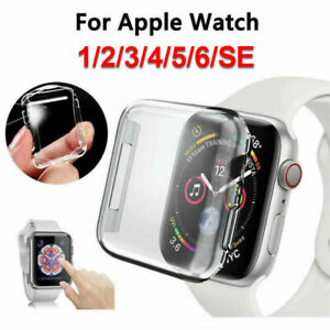 Apple Watch Series 4/5/6/SE Full Protective Cover Case / Screen Protector 40/44