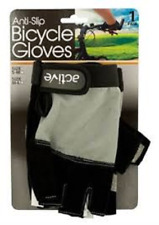 Anti-Slip Bicycle Gloves with Breathable Top Layer S-M