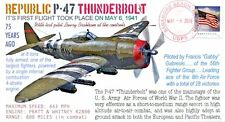 COVERSCAPE computer designed 75th anniversary 1st flight P-47 Thunderbolt cover
