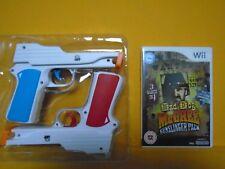 wii MAD DOG McCREE Gunslinger Pack + 2 NEW BLASTER GUN Attachments Nintendo PAL