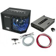 HIFONICS Mercury 4 + MR8BP + HF10WK BASSPACK 4CH MBP1000.4 Basspaket 1000 Watt