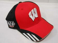 New Licensed Wisconsin Badgers Adidas YOUTH Flexfit Hat_B25