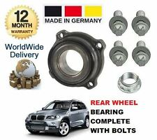 para BMW X5 E70 2007> NUEVO Kit de rodamientos rueda trasera Incluye Tornillos