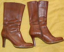 Womens Brown Mountain Brand Brown Mid-Calf Boots size 7 1/2  / Medium