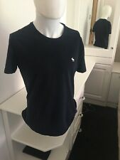 Mens Abercrombie and Fitch Navy Blue T - Shirt - size S
